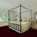 BAL HARBOUR Trellis Rose Commercial Carpet-1